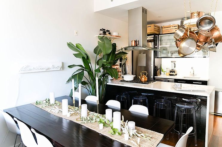 Decotour el departamento 2 ambientes de una cocinera for Apartaestudios pequenos