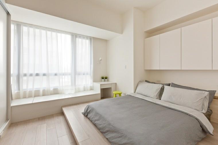 Sugerencias para dormitorios matrimoniales peque os decocasa for Dormitorios pequenos para adultos