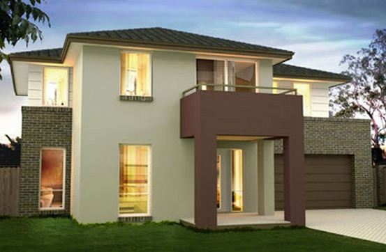 Exteriores c mo pintar la fachada del hogar decocasa - Como pintar mi casa moderna ...