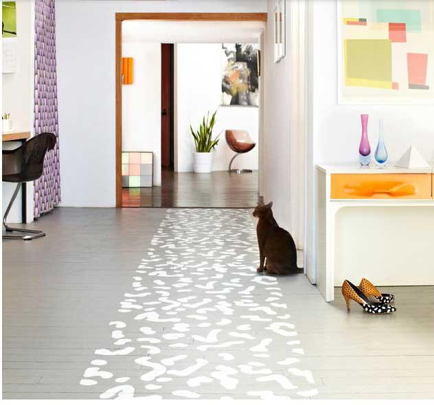 Ideas para pintar un piso de madera decocasa - Pintar entrada piso ...