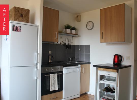 Reformas el antes y despu s de una peque a cocina decocasa for Cocinas super pequenas