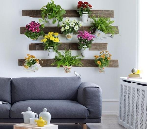 Ideas diferentes para decorar con plantas decocasa - Plantas para patios interiores ...