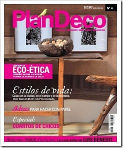 Tapa Revista Plan Deco