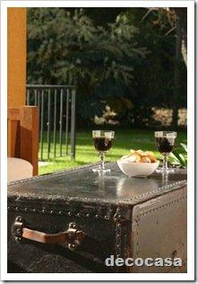 Foto Galeria Baul como mesa