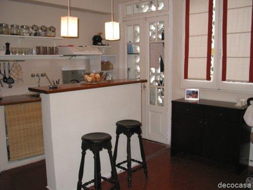 Vean mi departamento de 55 m2 la lucila decocasa for Muebles bibliotecas para living