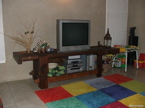 Decoraci n de casas estilo campo decocasa - Muebles rusticos de campo ...